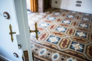 yok art nouveau mosaic floor