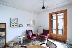 yok Casa B living room apartment rental